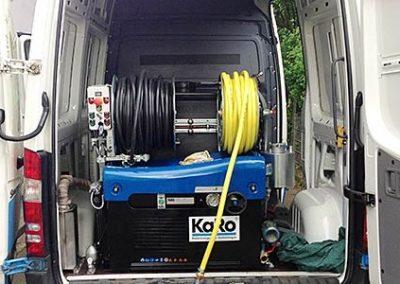 Ausstattung der Rohr- und Kanalreinigung Schwarz in Nordrhein-Westfahlen zur Kanalsanierung