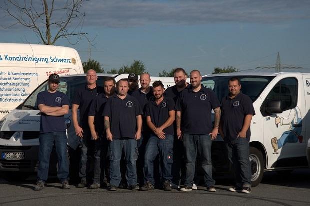 Das Team der Rohrreinigung Schwarz